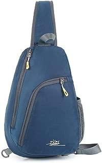 HAOXIANG Men Women Travel Lightweight Satchel Sling Chest Daypack Shoulder Crossbody Bag Outdoor Hiking Camping