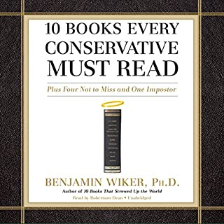 10 Books Every Conservative Must Read audiobook cover art