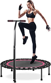 HOMEOW Fitness Trampoline for Adults 40