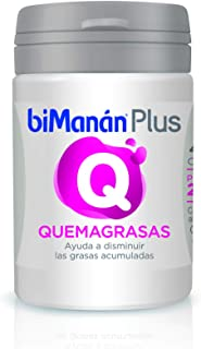 biManán - Complementos - Quemagrasas - Plus Q - 40 cápsulas 16 gr