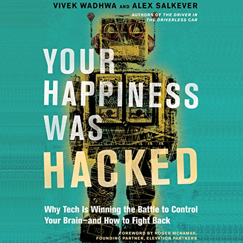 Your Happiness Was Hacked audiobook cover art