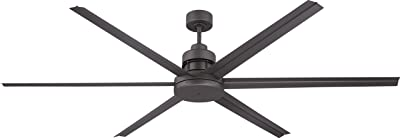 Big Ass Fans 3025 Silver And Yellow Shop Ceiling Fan 10