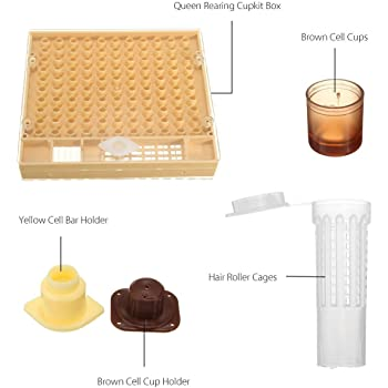 1 Set Queen Rearing Cupkit System Bee Beekeeping Catchers Box Cell Cups Tool Kit