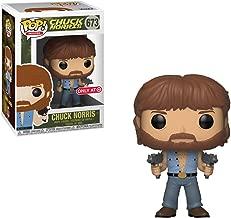 Funko Chuck Norris (Target Exclusive): Chuck Norris x POP! Movies Vinyl Figure & 1 POP! Compatible PET Plastic Graphical Protect