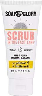 Soap & Glory Face Scrub 3.3 Oz! Formulated With Vitamin C, Lactic Acid And Salicylic Acid! Exfolaiting Face Scrub That Lea...