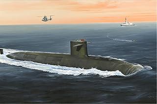 1/350 フランス海軍 弾道ミサイル原子力潜水艦 ル・トリオンファン ホビーボス [並行輸入品]