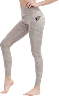 Workout Leggings for Women High Waist Yoga Pants Gym Running Tights with Pockets
