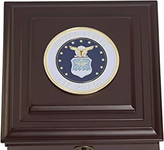 Allied Frame US Air Force Medallion Desktop Box