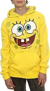 Spongebob Face Adult Hoodie