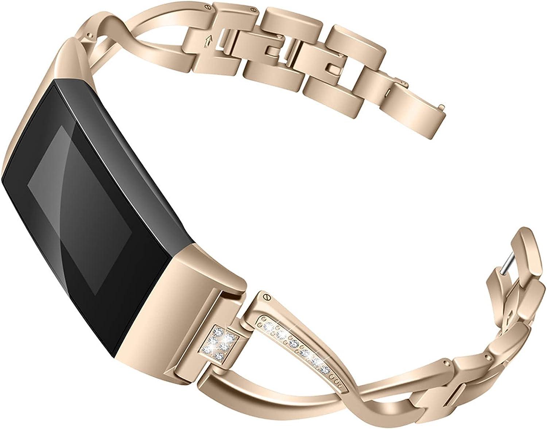 San Antonio Mall AMAZACER YLB Fashion Glitter Strap Max 81% OFF Compatible Char 3 with Charge