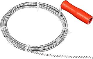 Nirox buisreinigingsspiraal 3m x 5mm - buisspiraal ideaal voor het verwijderen van haren uit de afvoer - gereedschap gedee...