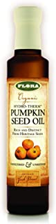 FLORA - Pumpkin Seed Oil, Hydro-Therm Extraction, Organic, 8.5 Fl Oz