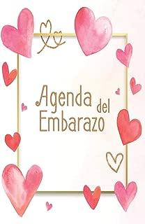 Agenda del Embarazo: Mi álbum de recuerdos de mi embarazo (Spanish Edition)