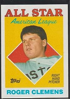 1988 topps roger clemens all star