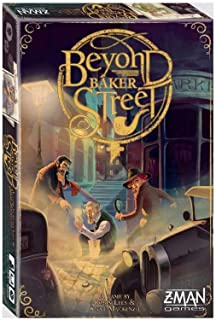 Z Man Games ZMG71670 Beyond Baker Street brädspel