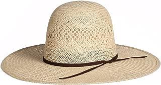 RODEO KING Mens Jute Open Crown 4 1/4 Brim Straw Cowboy Hat
