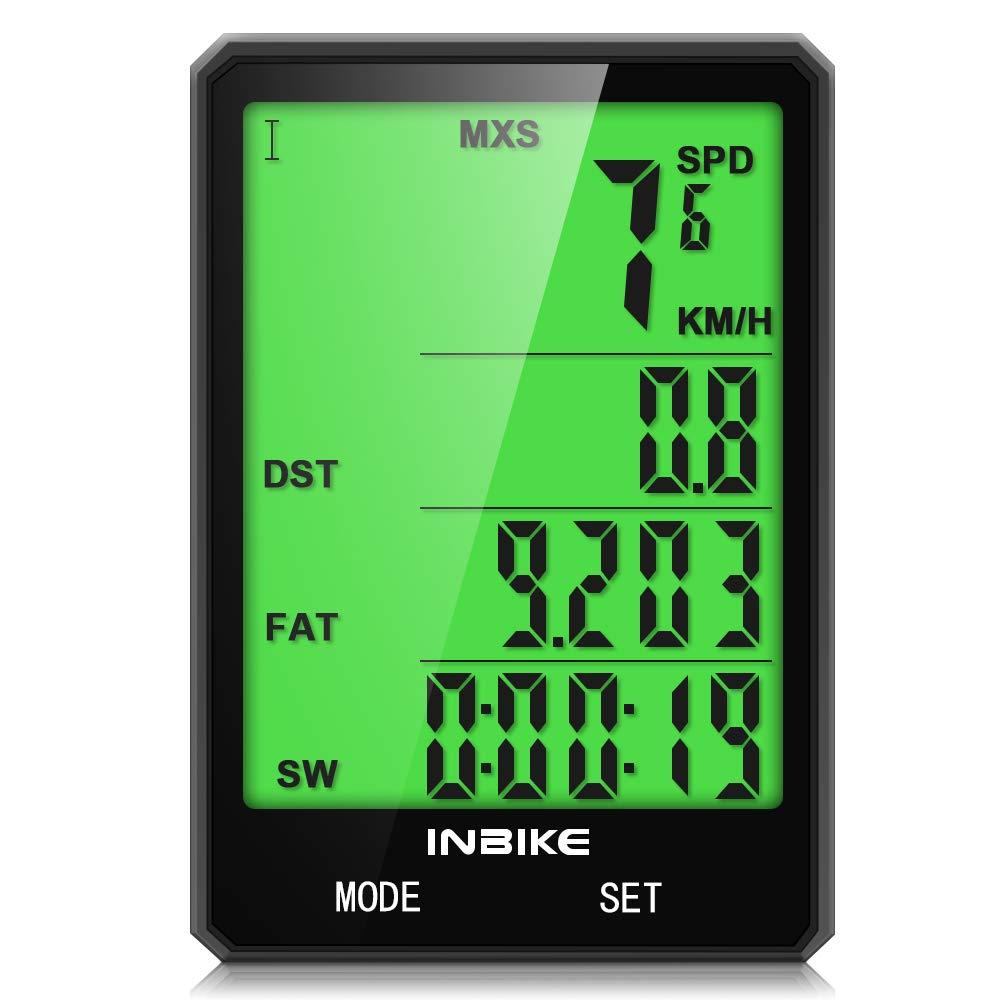Computer Speedometer Waterproof Backlight Automatically