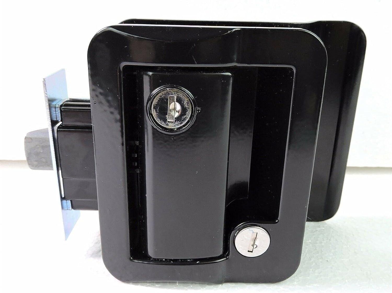 Trailer Accessories RV Camper Door Spring new work Super Special SALE held Black Key Trai Lock Latch Car