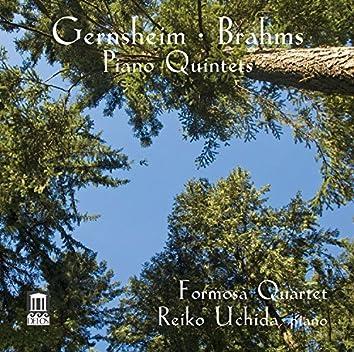 Gernsheim & Brahms: Piano Quintets, Opp. 63 & 34