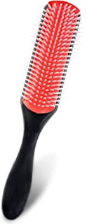 Cushion Nylon Bristle Styling Brushes Massage Hair Brush with Anti-static Rubber Pad Hair Styling Tools for Detangling, Vo...