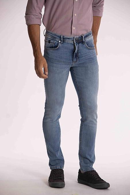 Sergio K Jeans Basic Delavê Masculino