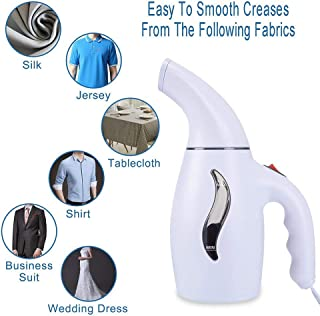 Little Story Clothes Hand-held Steam Iron Steamer Easy to Carry Electrical Appliances, Handheld steam Iron Mini Portable White