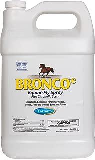 Bronco Farnam Gallon Fly Spray Horse Stable Deer Flies Mosquitoes Gnats Ticks Fleas
