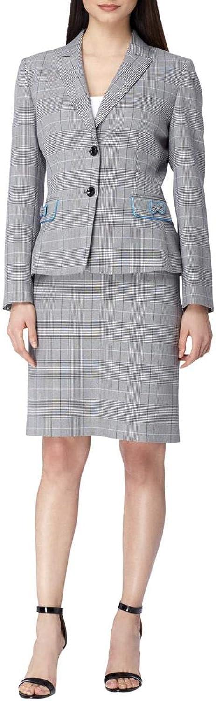 Tahari ASL Womens Office Wear 2 PC Skirt Suit