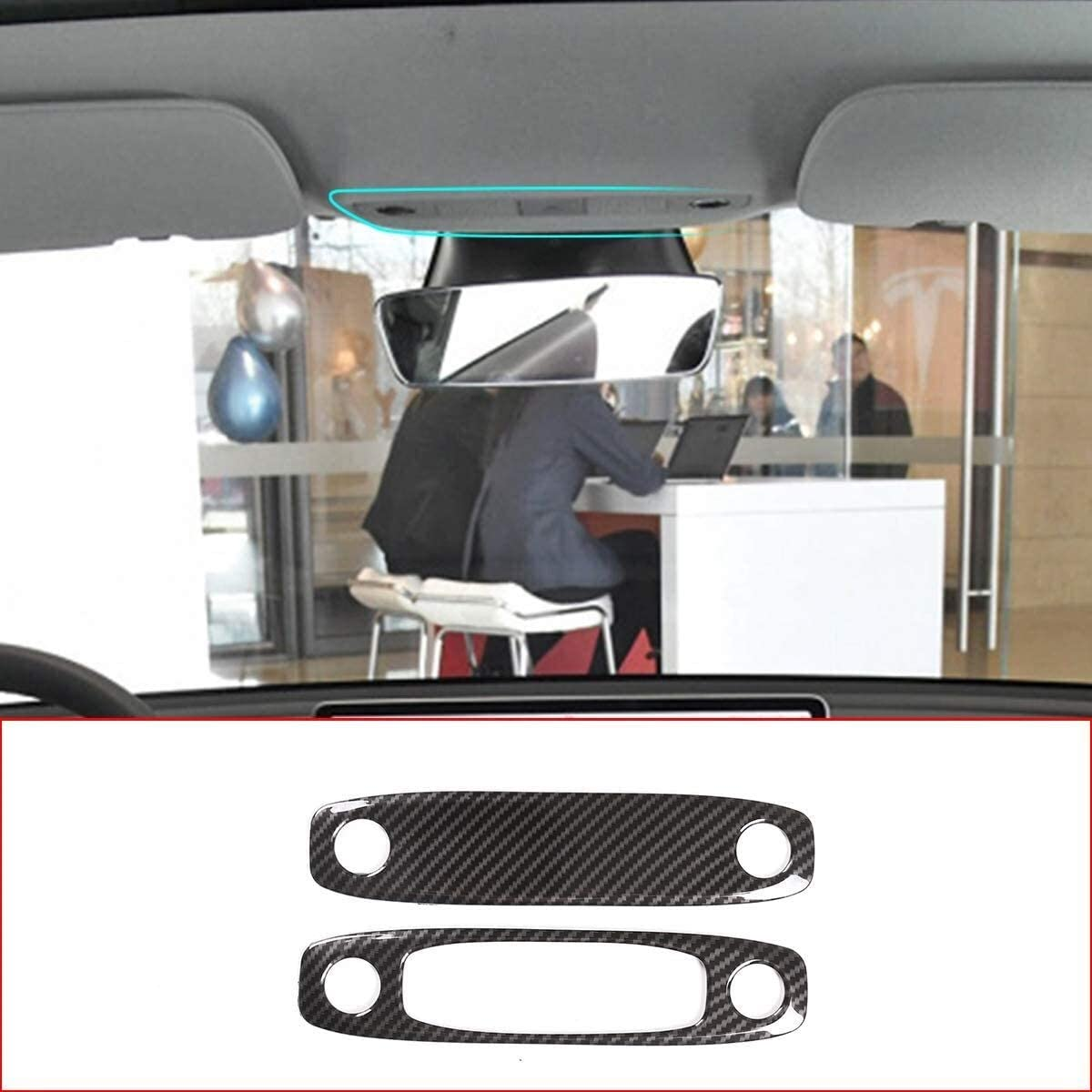 Onlogo Apply to Carbon Fiber Accessories ABS Interior Style Auto Wholesale Bombing free shipping