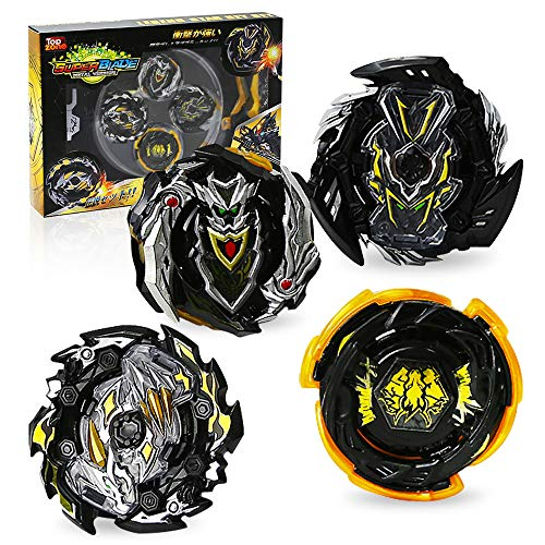 Ingooood Metal Fusion Gyro Toys for Kids, 4X High Performance Tops Attack Set with Launcher and Grip Starter Set and Arena Toys