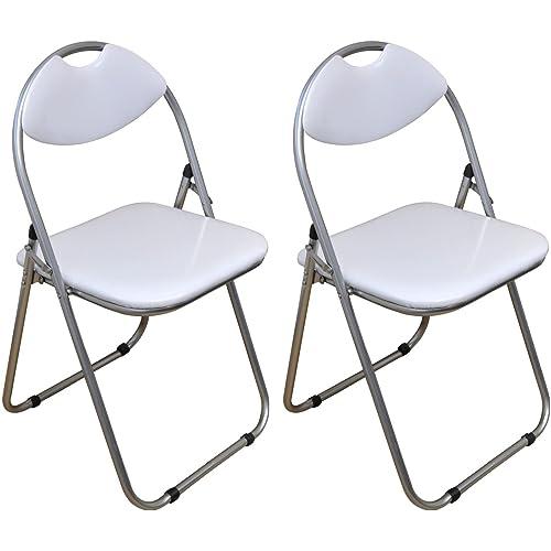 Chaise Pliante Blanche Amazonfr