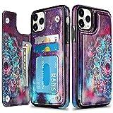 HianDier Wallet Case for iPhone 11 Pro Max Case Slim Protective...