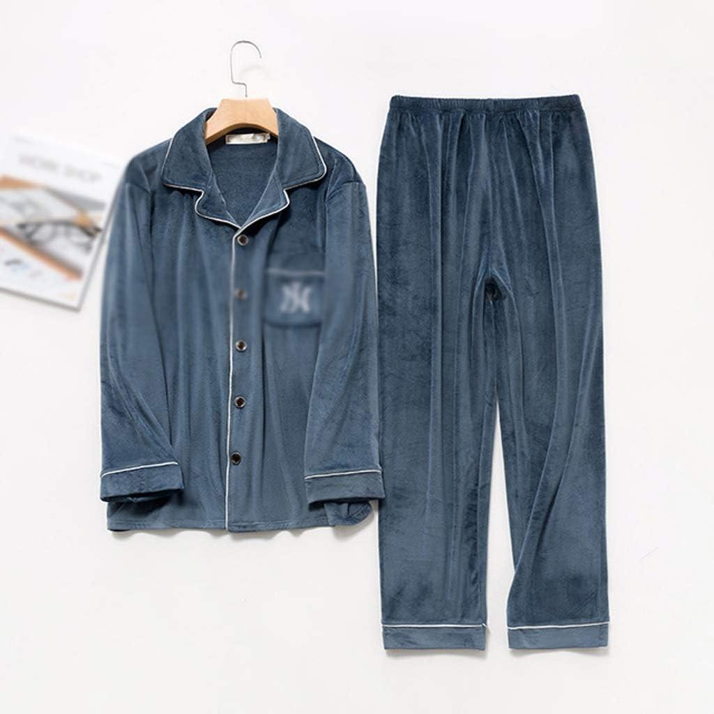 JJSPP Max 58% OFF Winter Velvet Couple Pajamas Set Coral 2 Fleece Sle Pieces Luxury goods