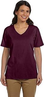 Hanes 5780 Women's Tagless V-Neck T-Shirt