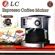 ماكينة تحضير قهوة اسبريسو وكابتشينو من دي ال سي سعة 1.6 لتر