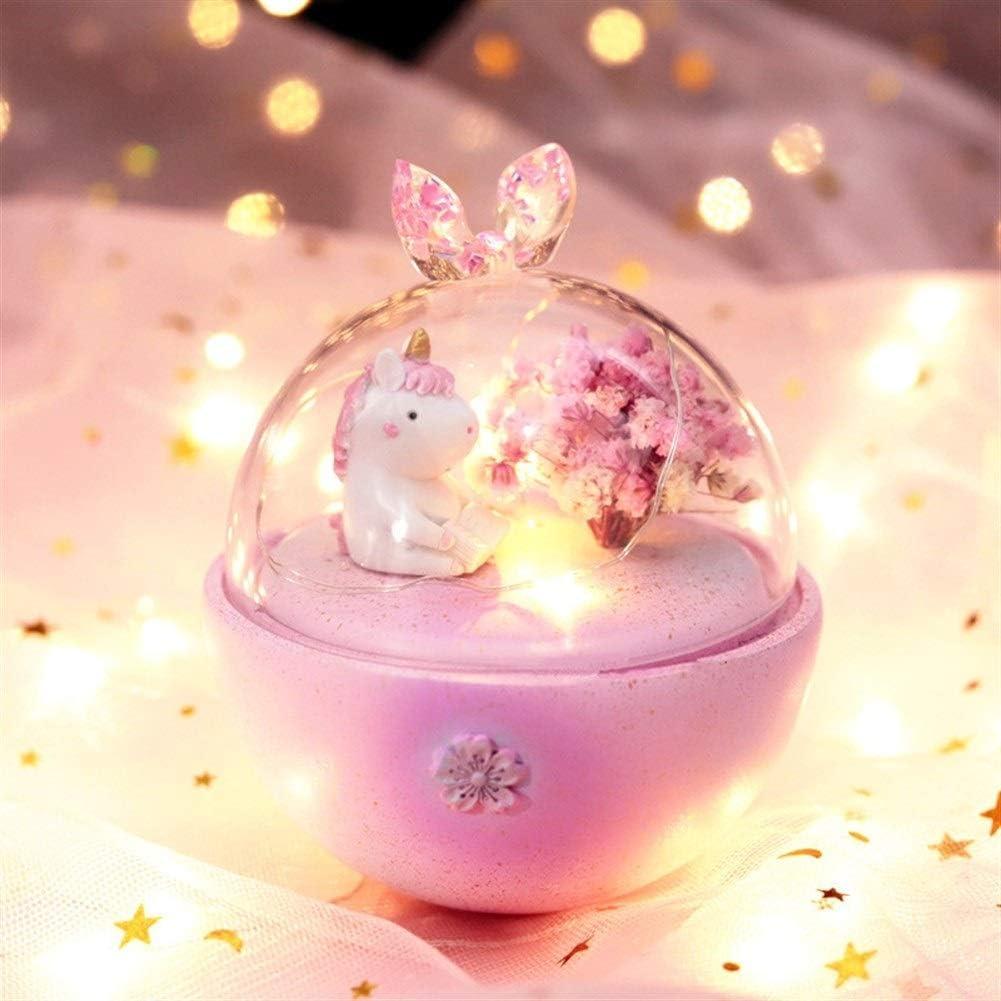 Ai-yixi Original Design Unicorn Reading Challenge the lowest price Super Special SALE held of Japan ☆ Book Starlight Nightligh