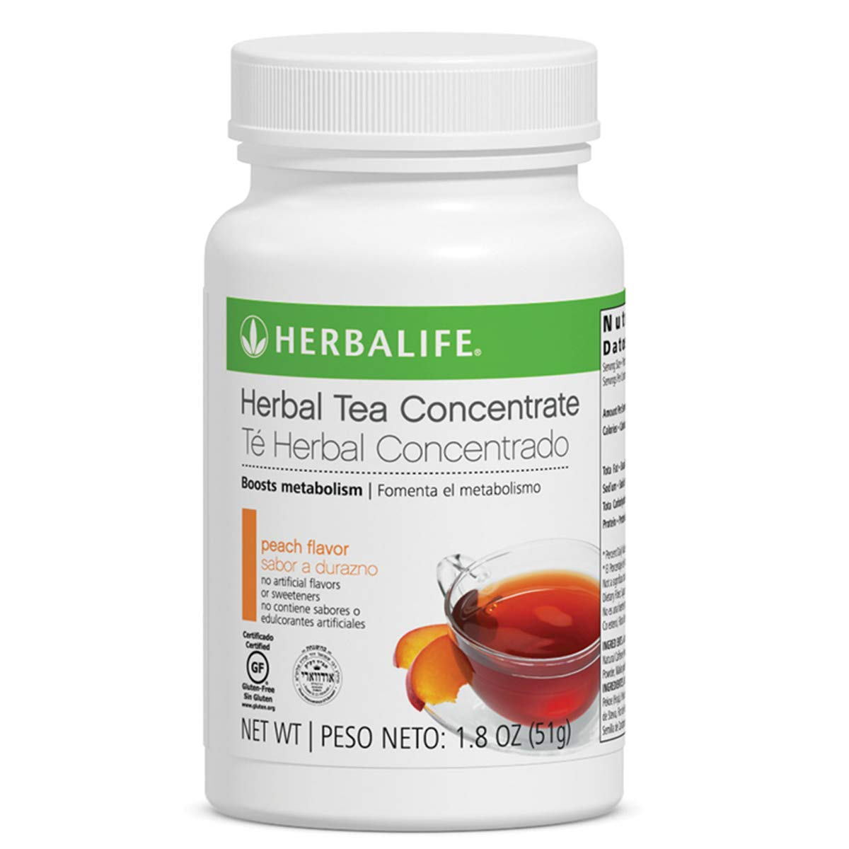 Herbal supreme Concentrate Tea Peach Flavor Omaha Mall Oz Management Weight Dri 1.8