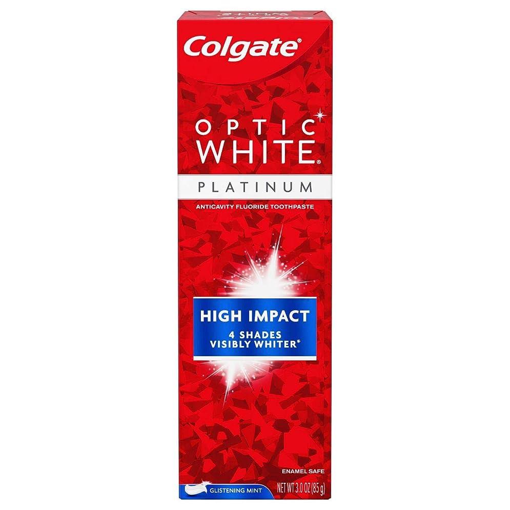 下に向けます便宜熟したColgate Optic White High Impact White 練り歯磨き [並行輸入品]