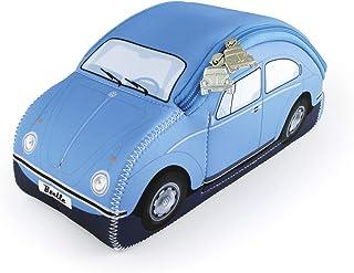 BRISA VW Collection - Volkswagen Classic Beetle Car Bug 3D Neoprene Universal Bag - Makeup, Travel, Cosmetic Bag (Neoprene...