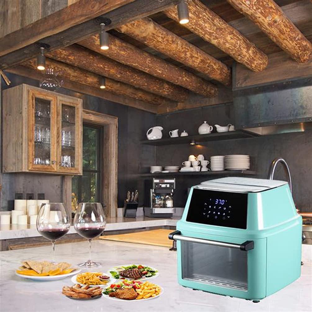 ZOKOP 16.9qt In a popularity 1800W 10-in-1 XXXL Fryer Family Countertop Size Air trend rank