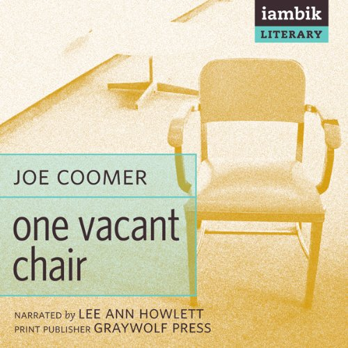One Vacant Chair audiobook cover art