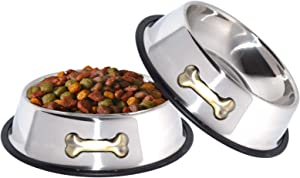 GPET Dog Bowl Stainless Steel Bowls