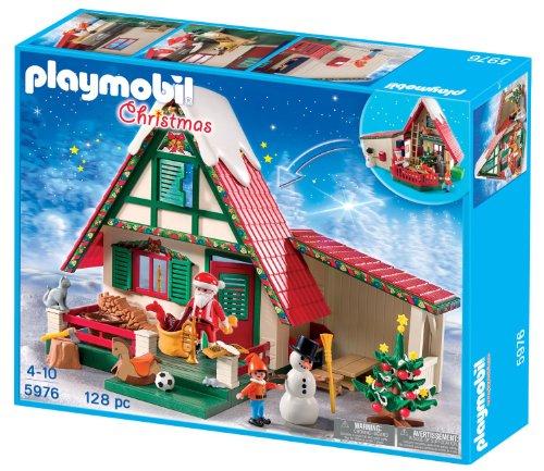 PLAYMOBIL Navidad: Casa de Papá Noel playset