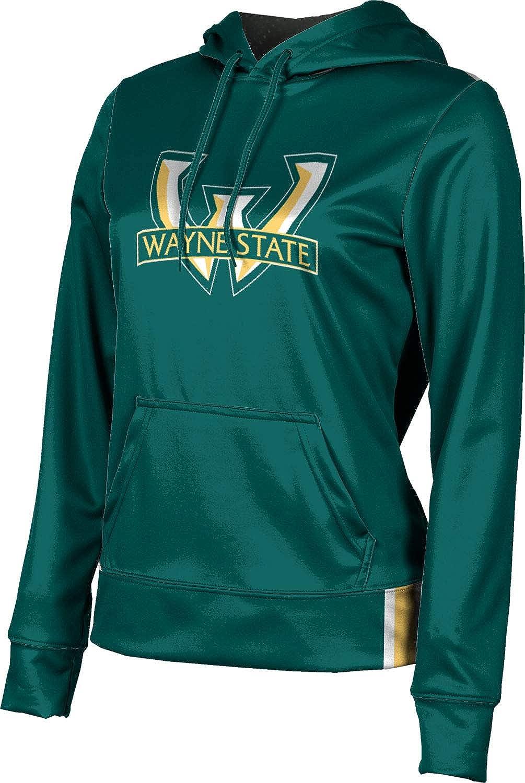 ProSphere Wayne State University Girls' Pullover Hoodie, School Spirit Sweatshirt (Solid)