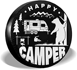 Truck and Many Vehicle Trailer Wheel Diameter 14 15 16 17 LLgLOOhoOPPPJDh Spare Tire Cover Universal Fit for Jeep RV SUV