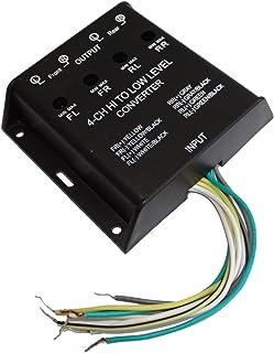 Aerzetix: Adapter für Signalverstärker 40 W für Autoradio Lautsprecher Subwoofer auf Cinch Verstärker C42168