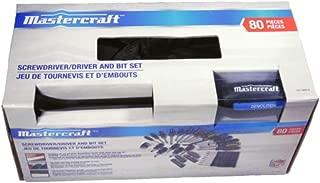 Mastercraft Screwdriver Set, 80-pc