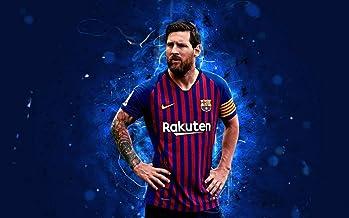 22inch x 14inch/56cm x 35cm Lionel Messi Silk Poster