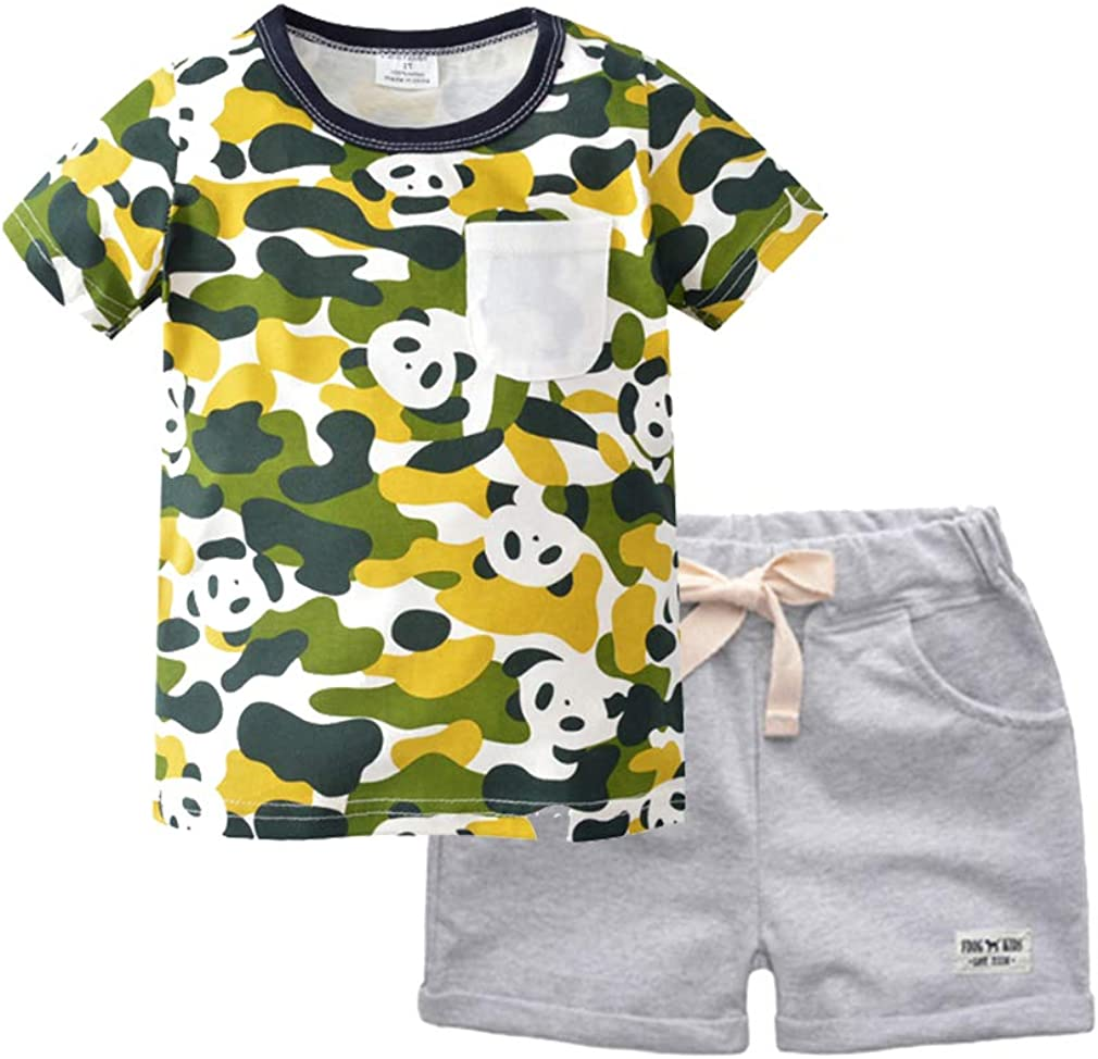 Spring new work one after another Little Boy Short Sleeve T-Shirt Cotton and Max 57% OFF 100% Shorts Sle