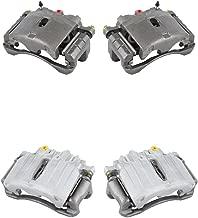 CCK11442 FRONT + REAR [4] Premium Grade Semi-Loaded OE Caliper Assembly Set Kit